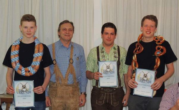 Felix Robert, Anton Melder, Alexander Eldner, Fabian Robert
