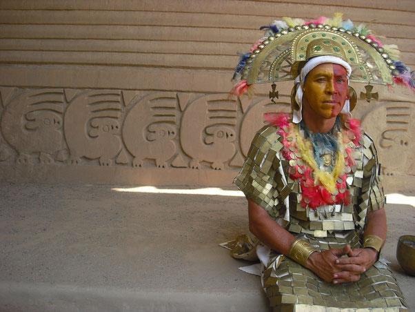 Chan Chan ist eines der vielen archäologischen Top-Ziele Perus
