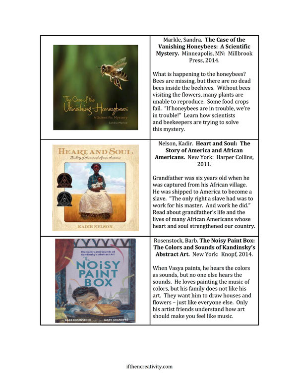 Nonfiction for readers in grades 2-6