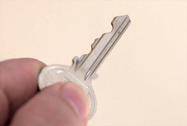 古いタイプの鍵