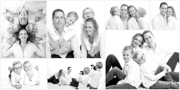 Shooting famille pêle-mêle - studio photo Danimages dans l'oise