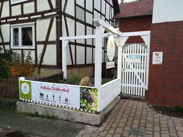 Hofladen Direktverkauf Früchtegarten Fruchtwein-Kellerei Beranek Vöhl Basdorf