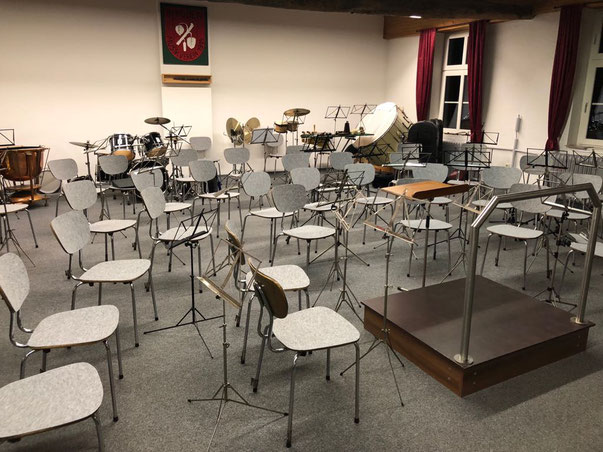 Probenraum Musikverein Birgden