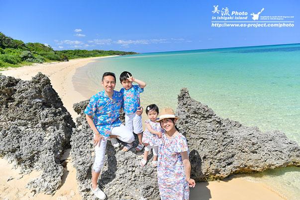 石垣島 家族撮影