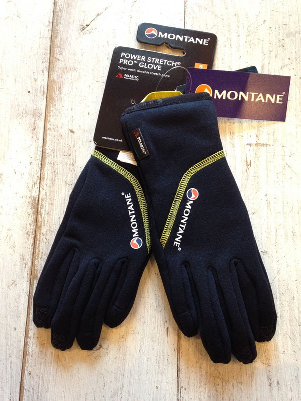 MONTANE(モンテイン) POWER STRETCH PRO GLOVE ¥5,400(税込)