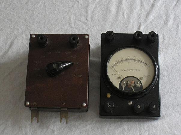 Gossen Universal Mavometer mit Messbereichsumschalter Gleichstrom