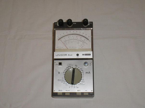 Metrawatt  Vielfach Messgerät Typ. Unigor A 43