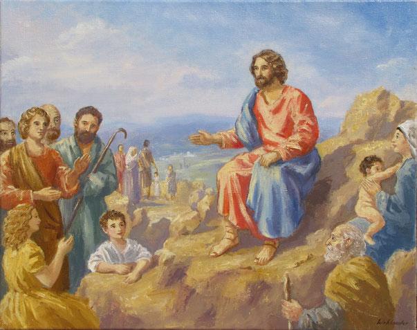 Tony Wahlander (Wåhlander) Le sermon de Jésus sur la montagne Nouveau Testament