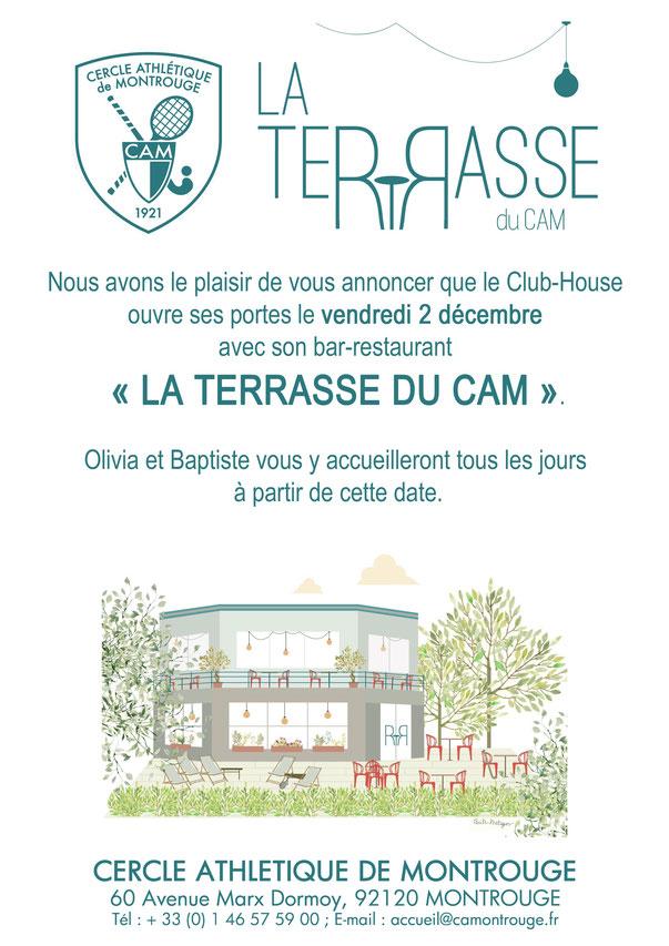 La Terrasse du CAM - Nouveau Restaurant