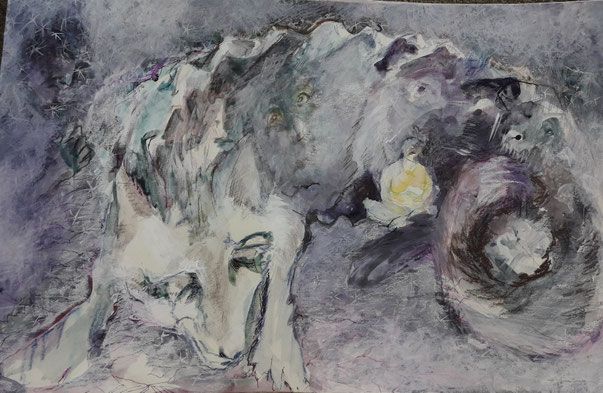 La louve mauve