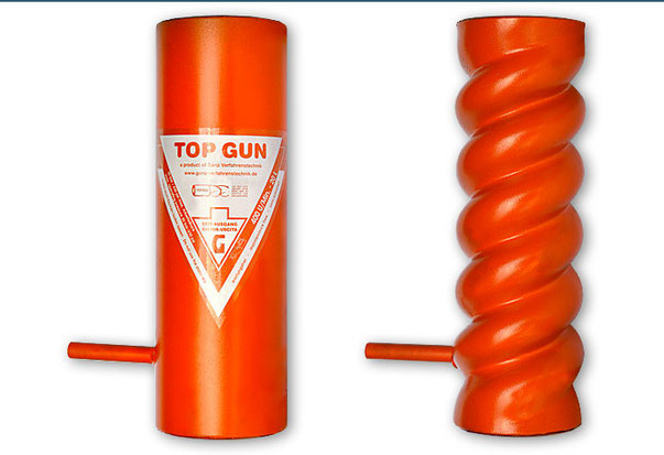 Schneckenmantel TOP GUN + TOP GUN HELIX (D6 - 3)