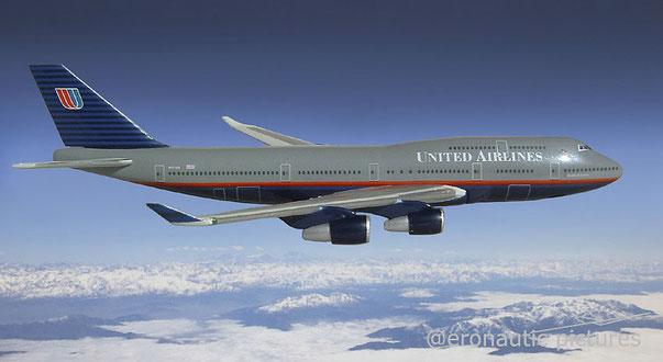 Aerolinea americana United Airlines