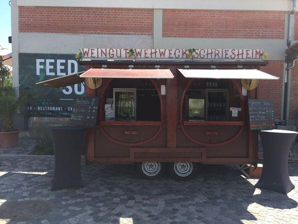 Mobiler Ausschankwagen (auch zu mieten - Anfragen über unser Kontaktformular)