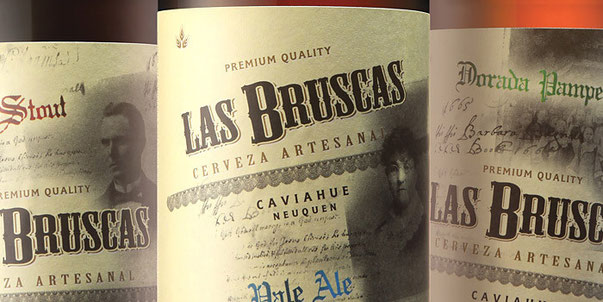 Дизайн Las Bruscas Beer