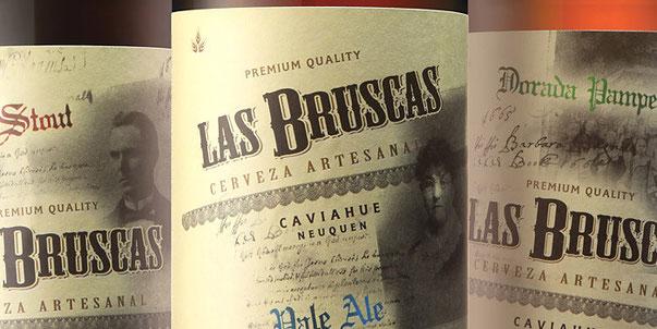 Дизайн Las Bruscas Beer