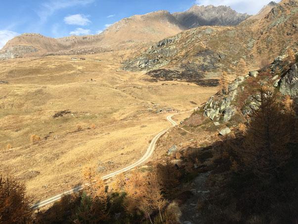 oltre il colle, la Val di Rhemes