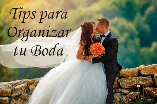 tips para organizar una boda