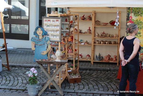 Freiberger Töpfermarkt Kermaik-Fleury
