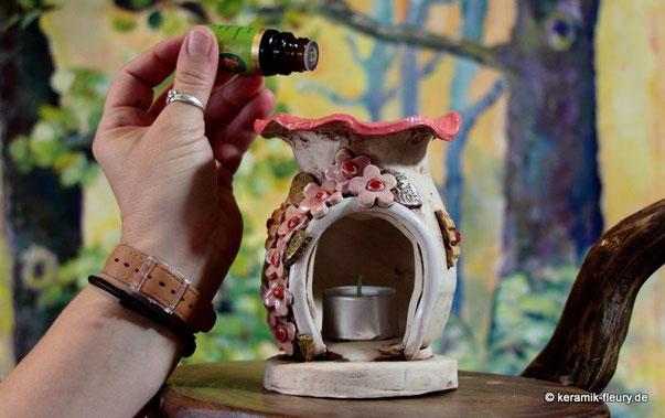 Duftlampe aus Keramik