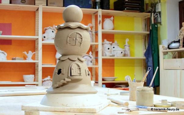Keramik Wichtelturm