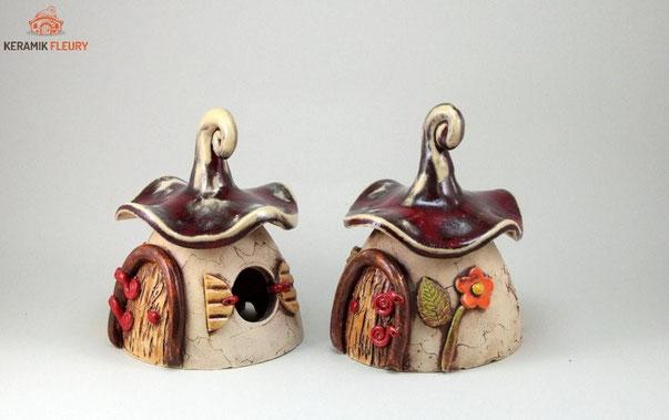 Tischdekoration aus Keramik