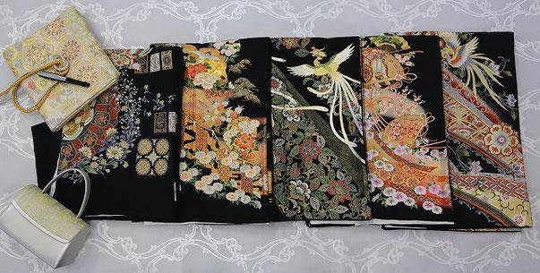 留袖レンタルの衣装紹介