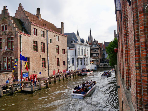 Belgien, Brügge Grachten