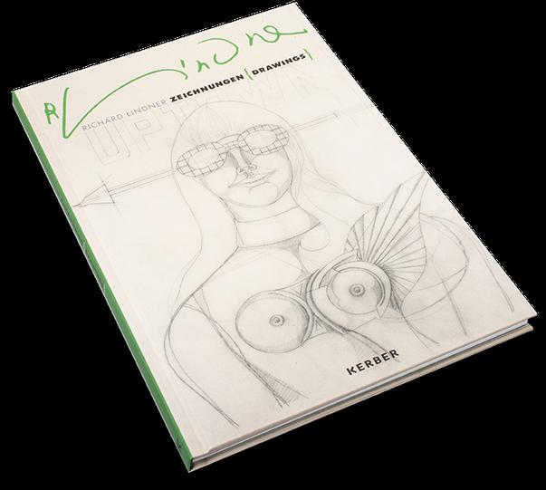 Richard Lindner, Zeichnungen, Drawings, Cover, Buch, Book, Katalog, Catalogue, Layout, Gestaltung, Buchgestaltung, Typografie, Typography, claasbooks, Claas Möller