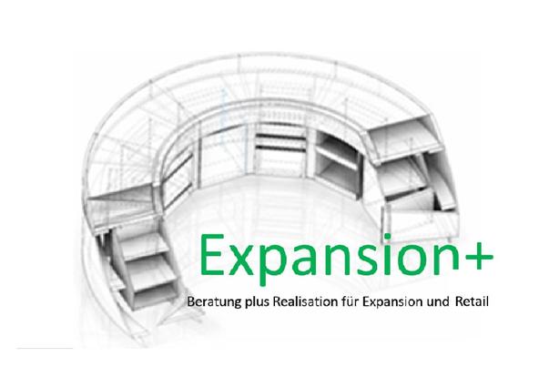 Expansion+ Beratung plus Realisation für Expansion und Ladenbau