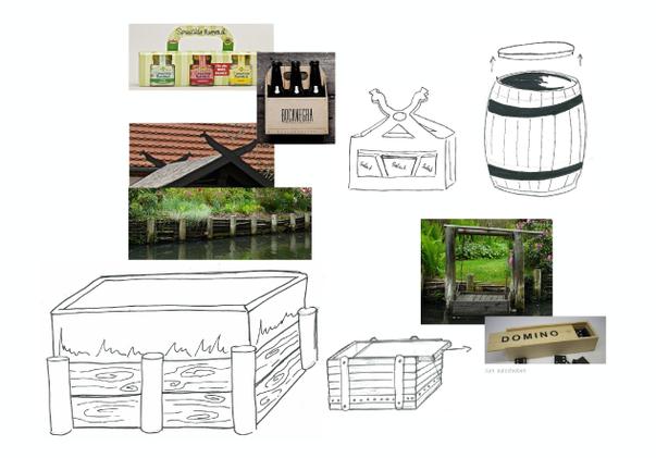 GOLßENER - Feinkostsalate - Ideenansätze in Form von Scribbles zur Formentwicklung für die Verpackung - Spreewald - Produkt Design - DesignKis - 2013