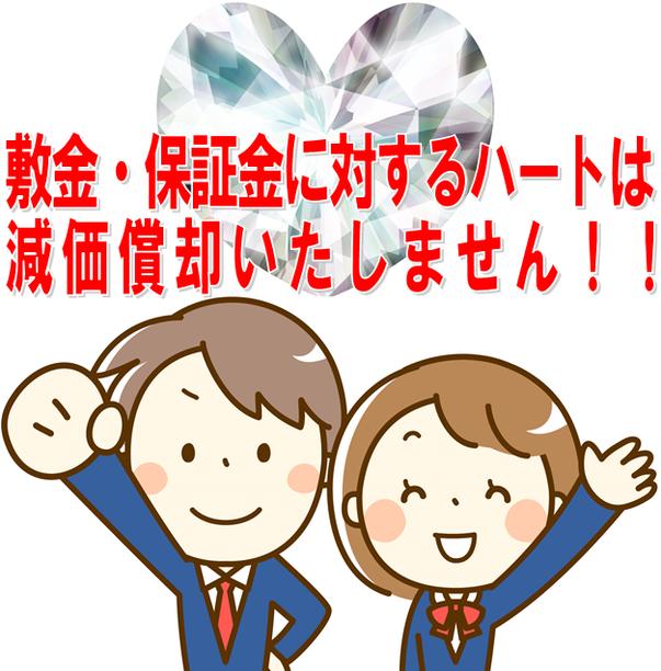 東京|神奈川(横浜)|愛知(名古屋)|大阪|広島から全国まで敷金返してnetが教えます減価償却の方法