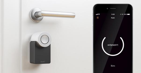 Nuki Smart Lock 2.0. TAURUS Sicherheitstechnik GmbH elektronisches Schloss