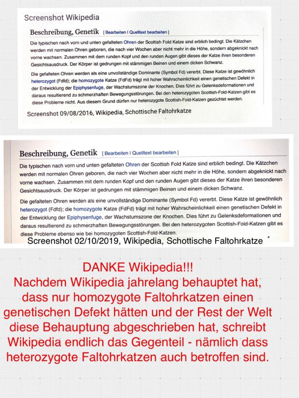 Die Online-Enzyklopedie Wikipedia hat ihre Meinung revidiert.