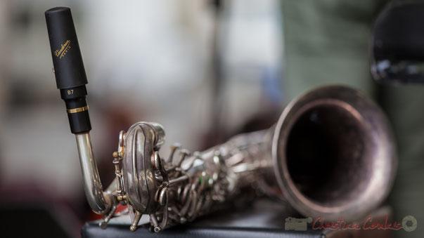 Saxophone d'Eric Séva, Festival JAZZ360 2016, Camblanes-et-Meynac
