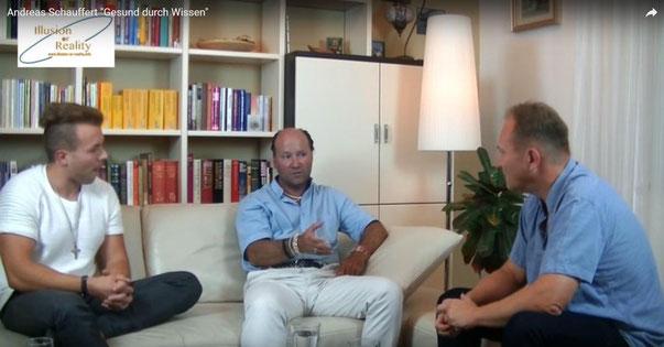 Andreas Nußbaummüller in gespräch mit Andreas Schauffert und Sascha Nico