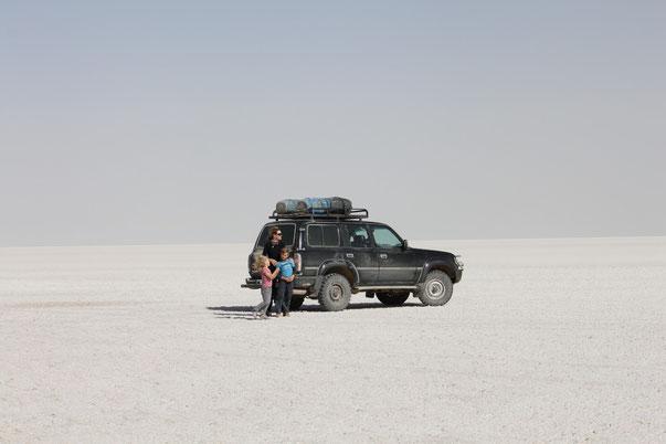 Die Salzsee-Überquerung von Uyuni ist ein spektakuläres Erlebnis