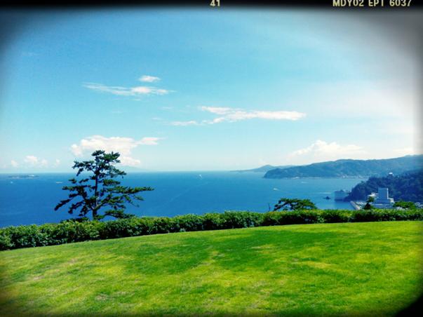 熱海からの景色