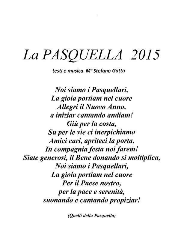 Cliccate La Pasquella 2015