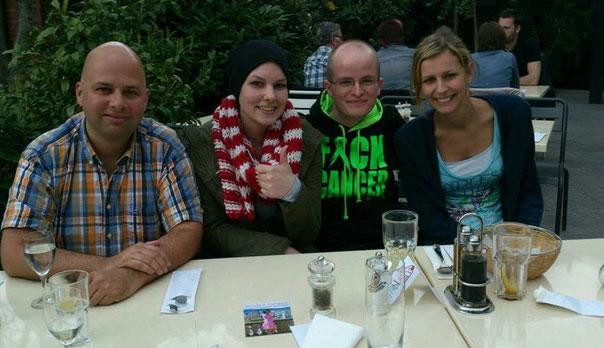 Mit Maxi, Benni und Marina