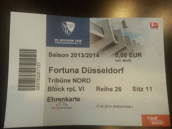 Danke Herr Maid (VFL Bochum)