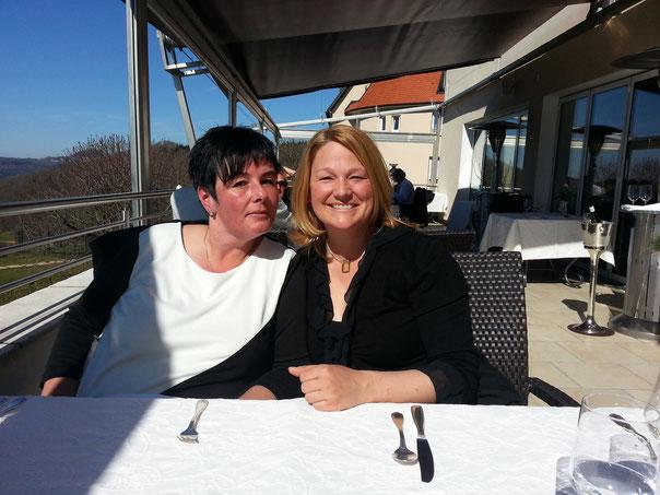 Birgit und Mona