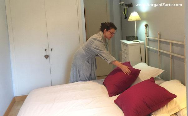 hábito de hacer la cama cada día a la misma hora - AorganiZarte.com