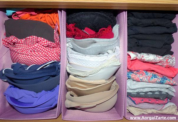 Deshazte de la ropa interior vieja - AorganiZarte