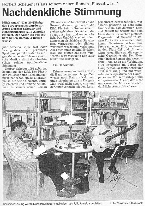 Jülicher Nachrichten vom 30.06.2003