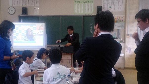 先生方も一緒にわいわいと、授業は進みました