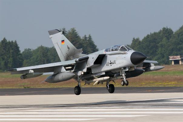 Panavia Tornado ECR da guerra elettronica/ricognizione (Foto: Luftwaffe)