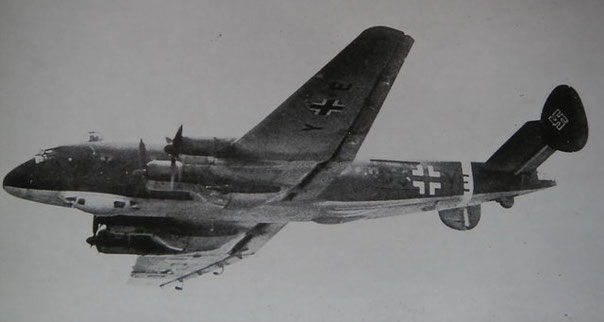 Ju-90 in volo.