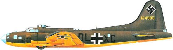 "Boeing B-17 Flying Fortress ""Wolf Hound"" Matr. USAF 41 - 24.585."