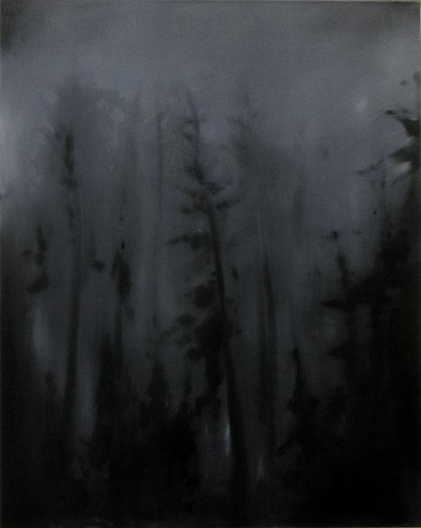 Matthieu van Riel Schilderijen. Wald Empfindung l 100x80cm olie op canvas 27.09.2017