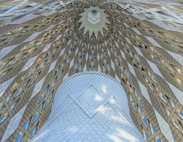Ла Саграда Фамилия, Барселона. Интерьеры башни Девы Марии